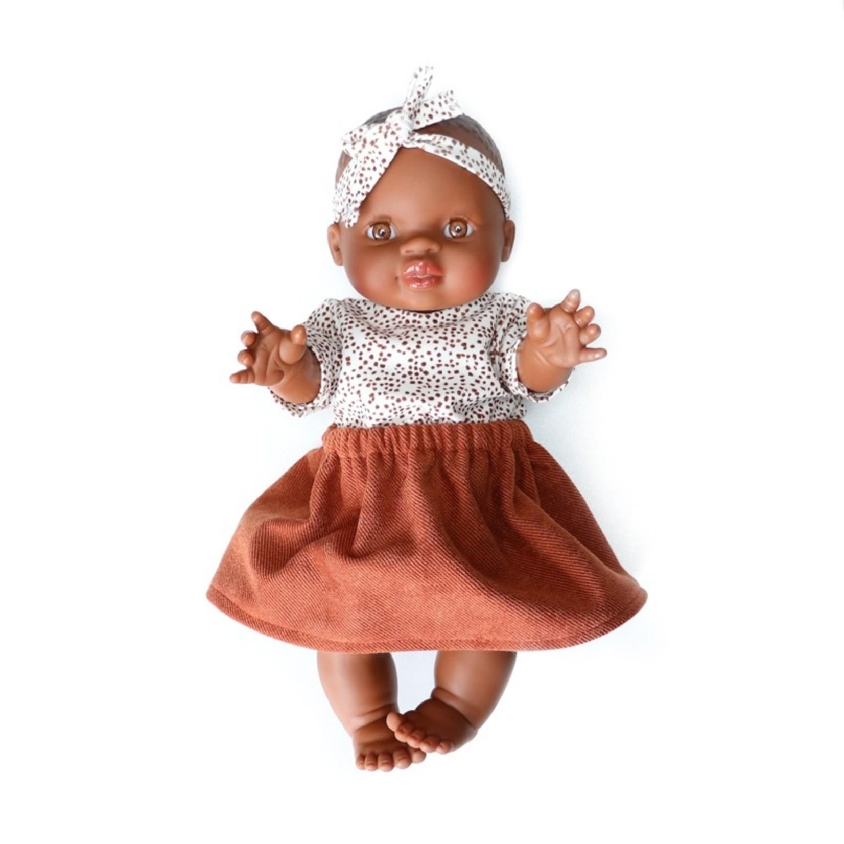 Gordi Babypop Meisje met blauwe ogen
