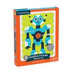 Mudpuppy Puzzel Sticks - Robot