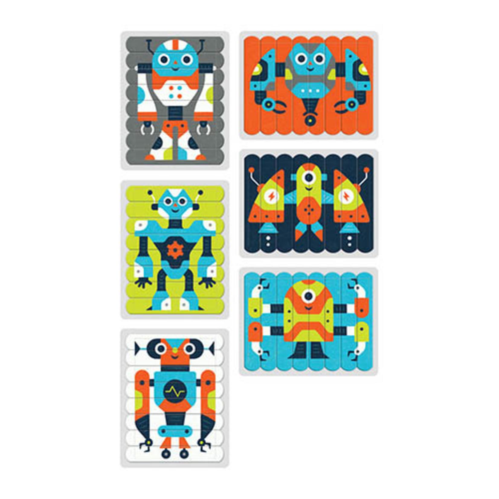 Puzzel Sticks - Robot
