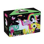 Mudpuppy Puzzel Glow in the dark - Unicorns