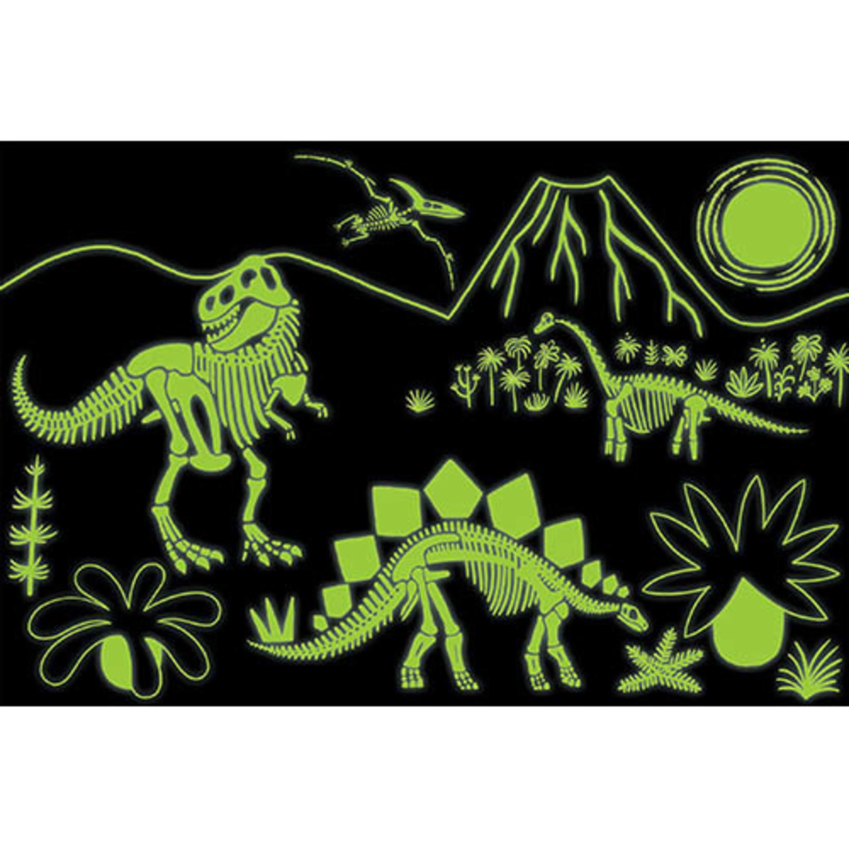 Puzzel Glow in the dark - Dinosaurus