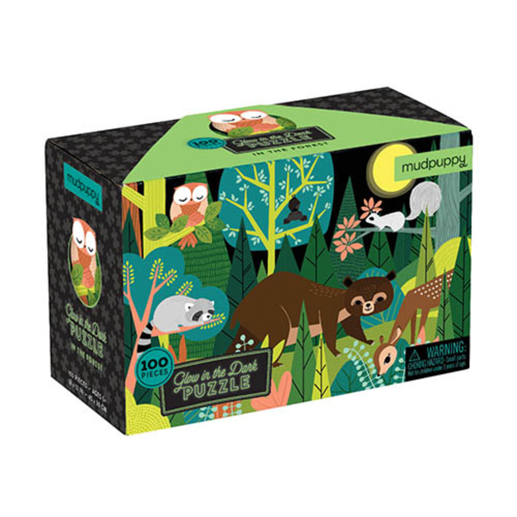 Puzzel Glow in the dark - In the forest