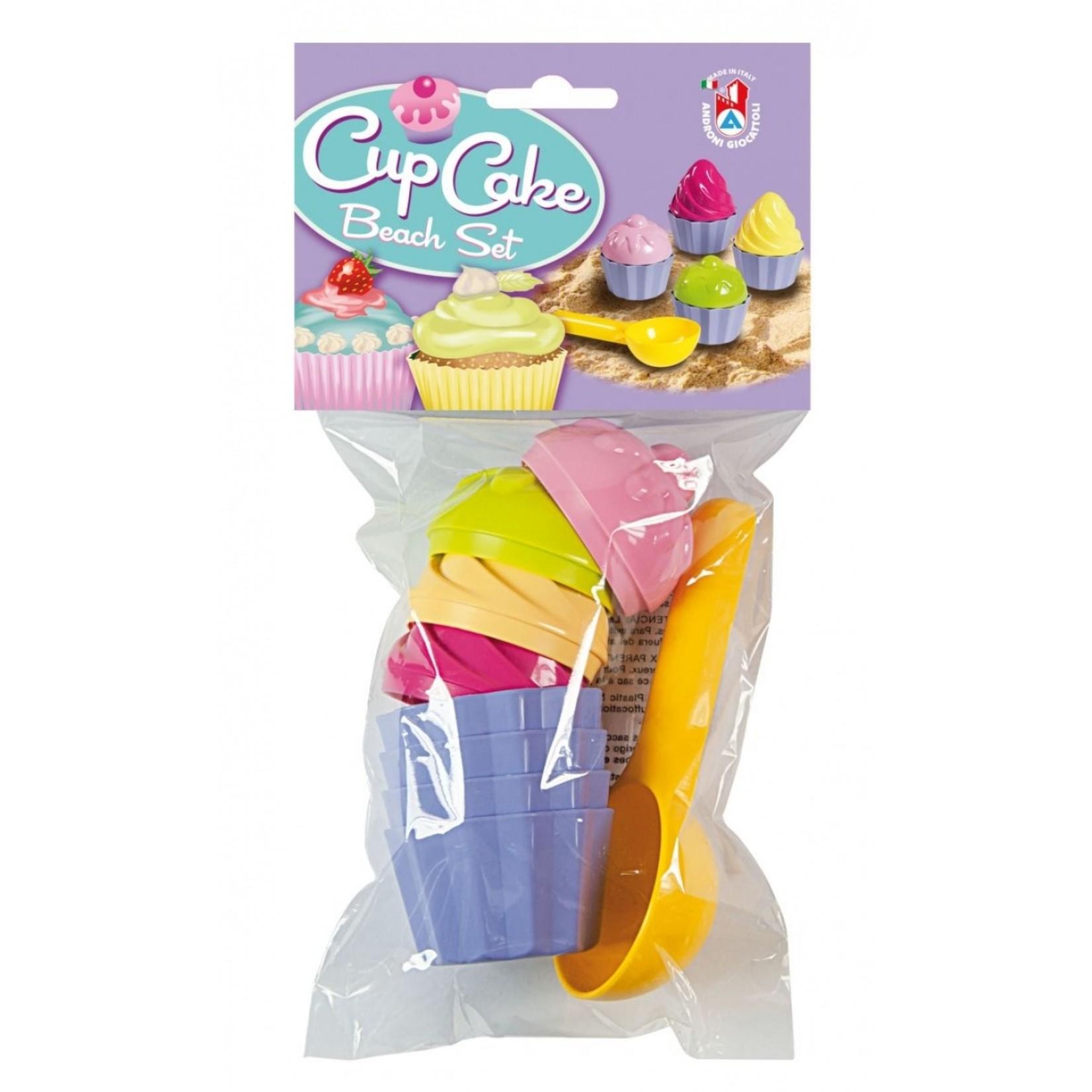 Zandset cupcake (9-delig)