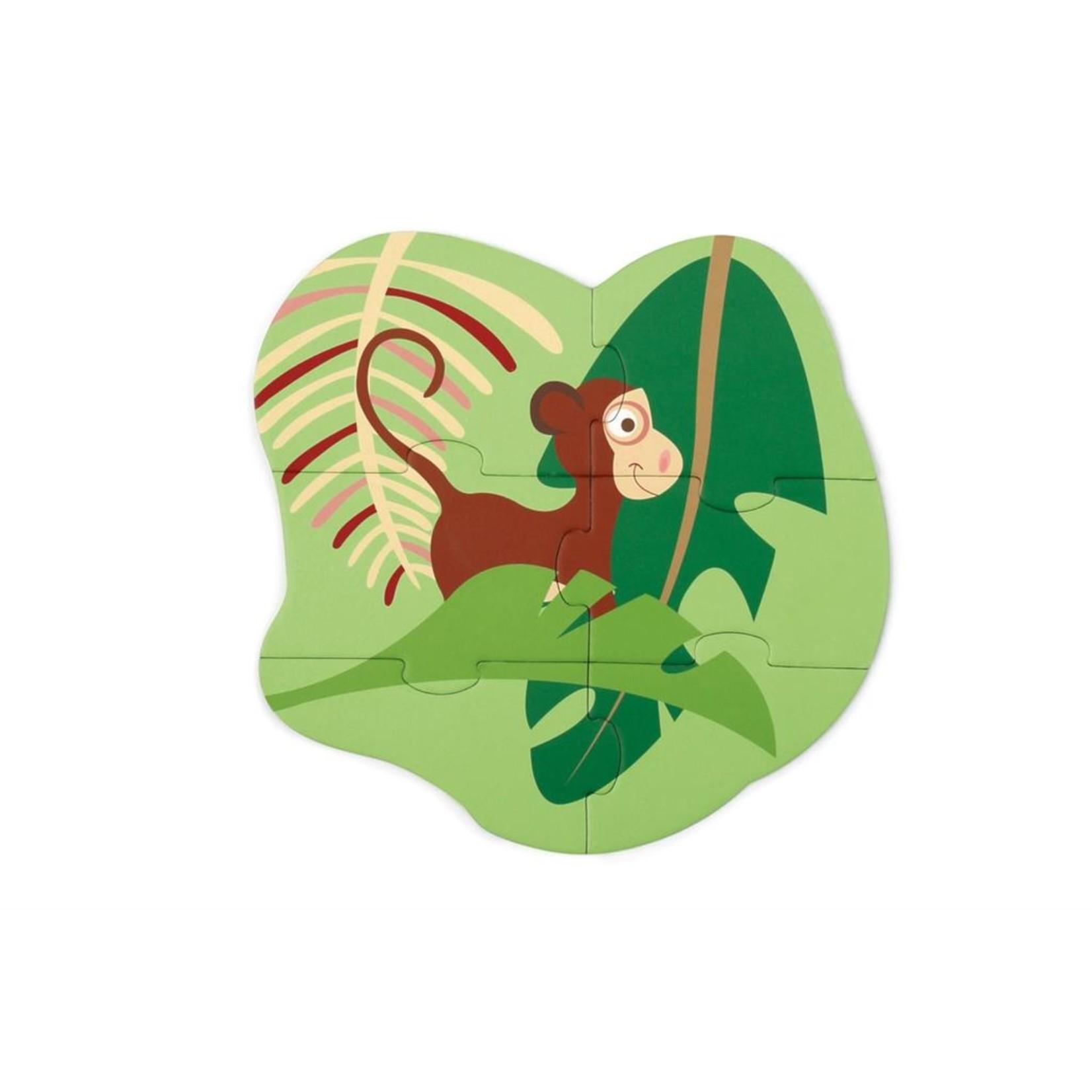 Beginnerspuzzel Jungle
