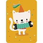 Bora Kaart Accordion cat