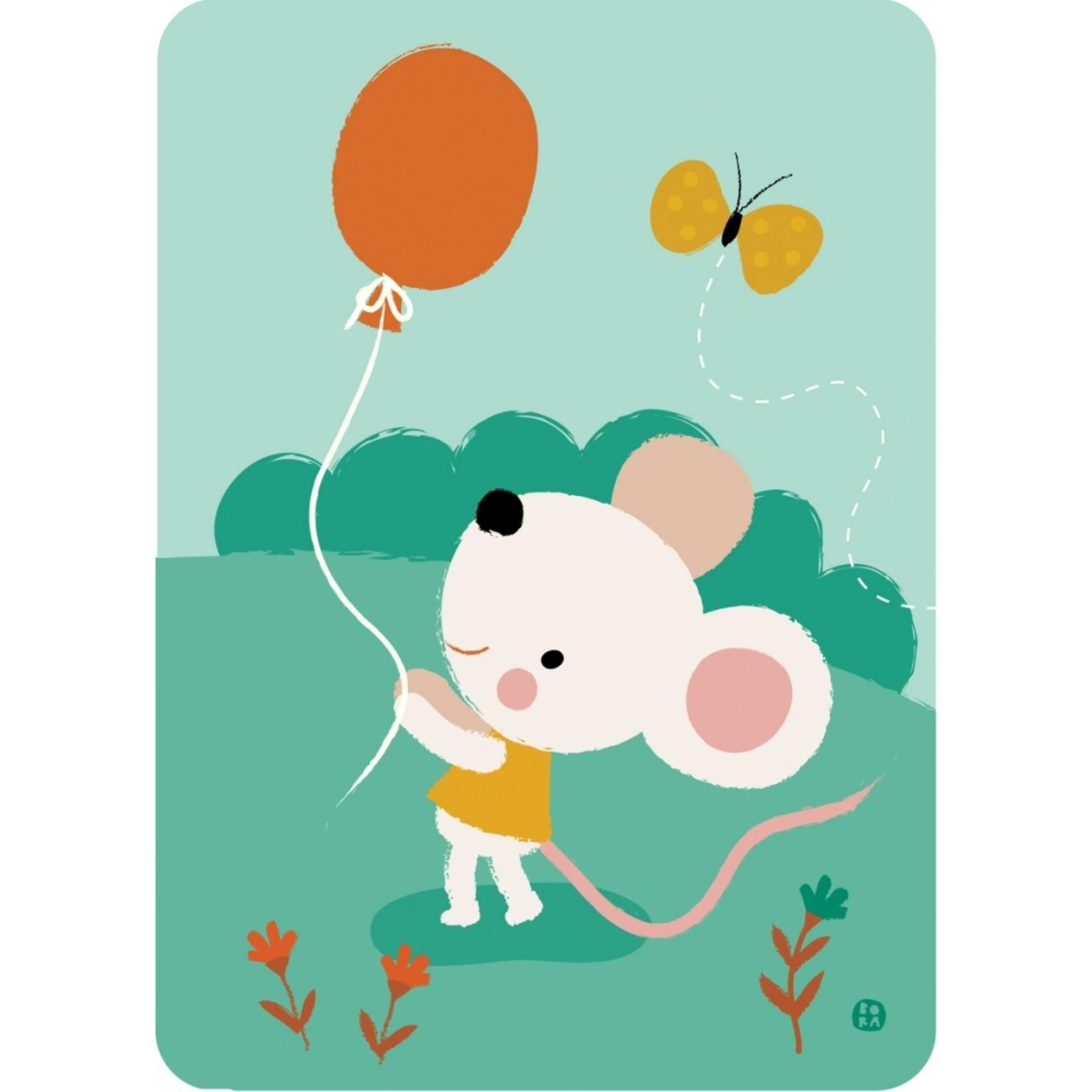 Kaart Balloon mouse