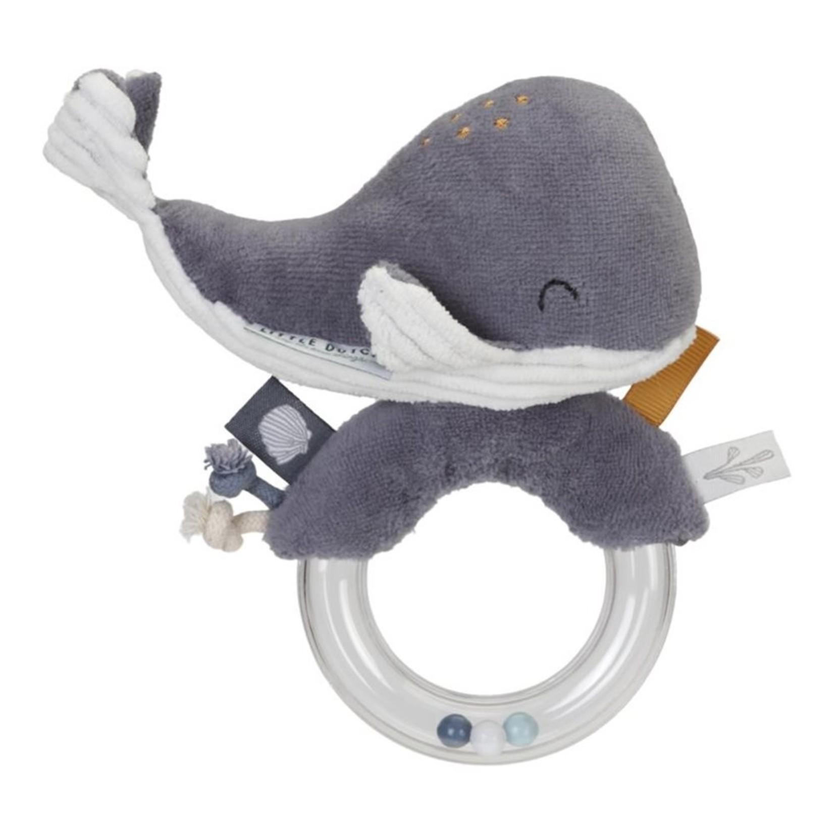 Ringrammelaar grijze walvis thema Ocean