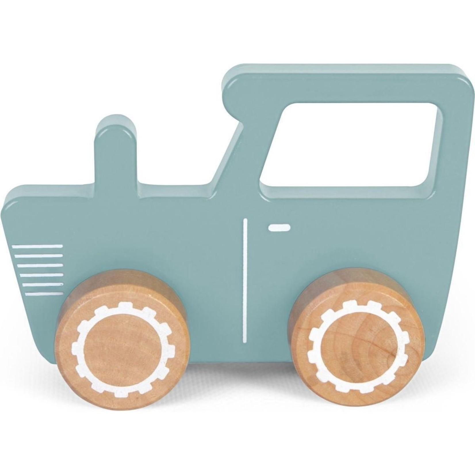 Tractor blauw