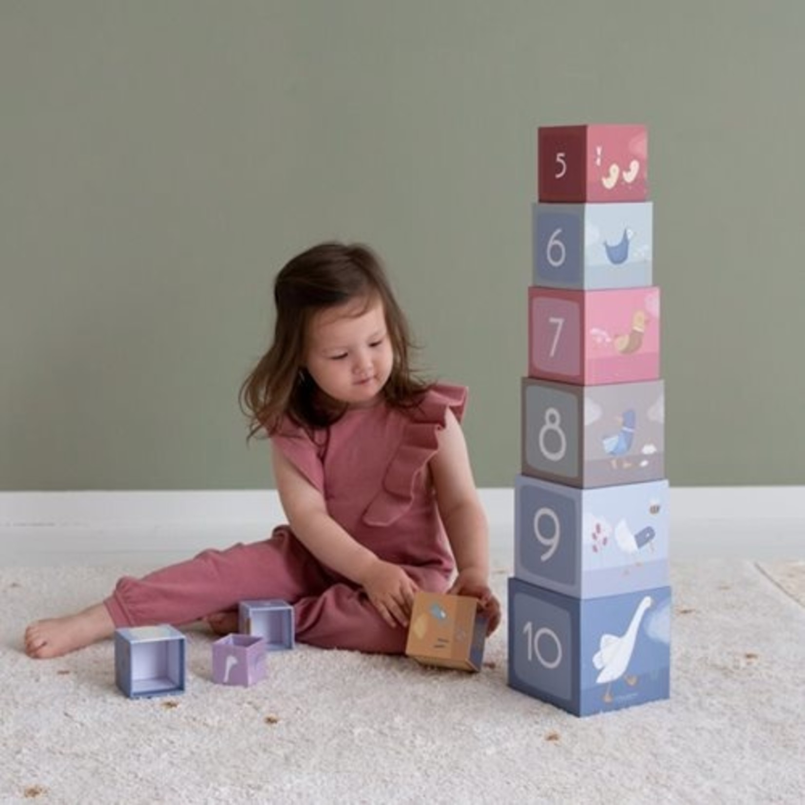 Stapelblokken Little Goose karton