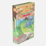 Tiger Tribe Kleur-en stickerset Dinosaurus