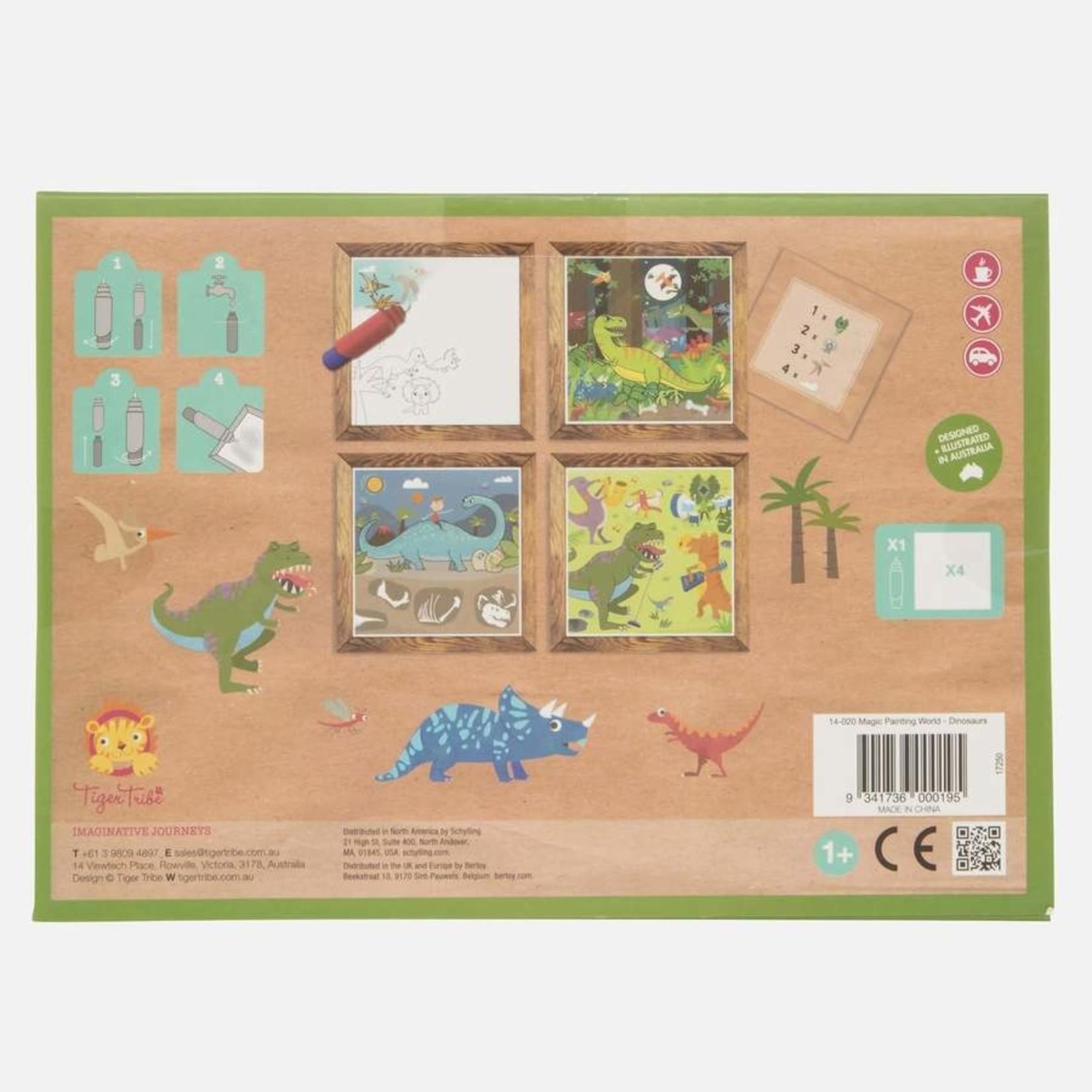 Magic painting Dinosaurus