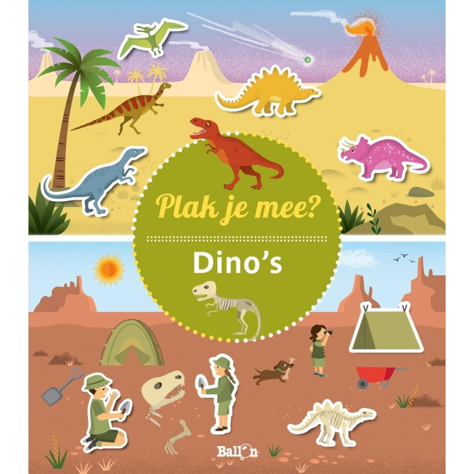Ballon Plak je mee? - Dinosaurus