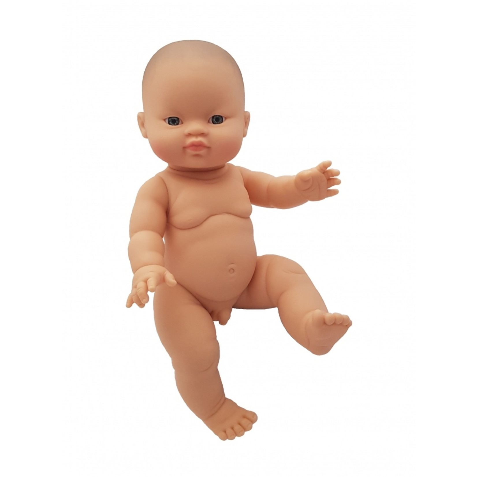Gordi Babypop Jongen met blauw/grijze ogen