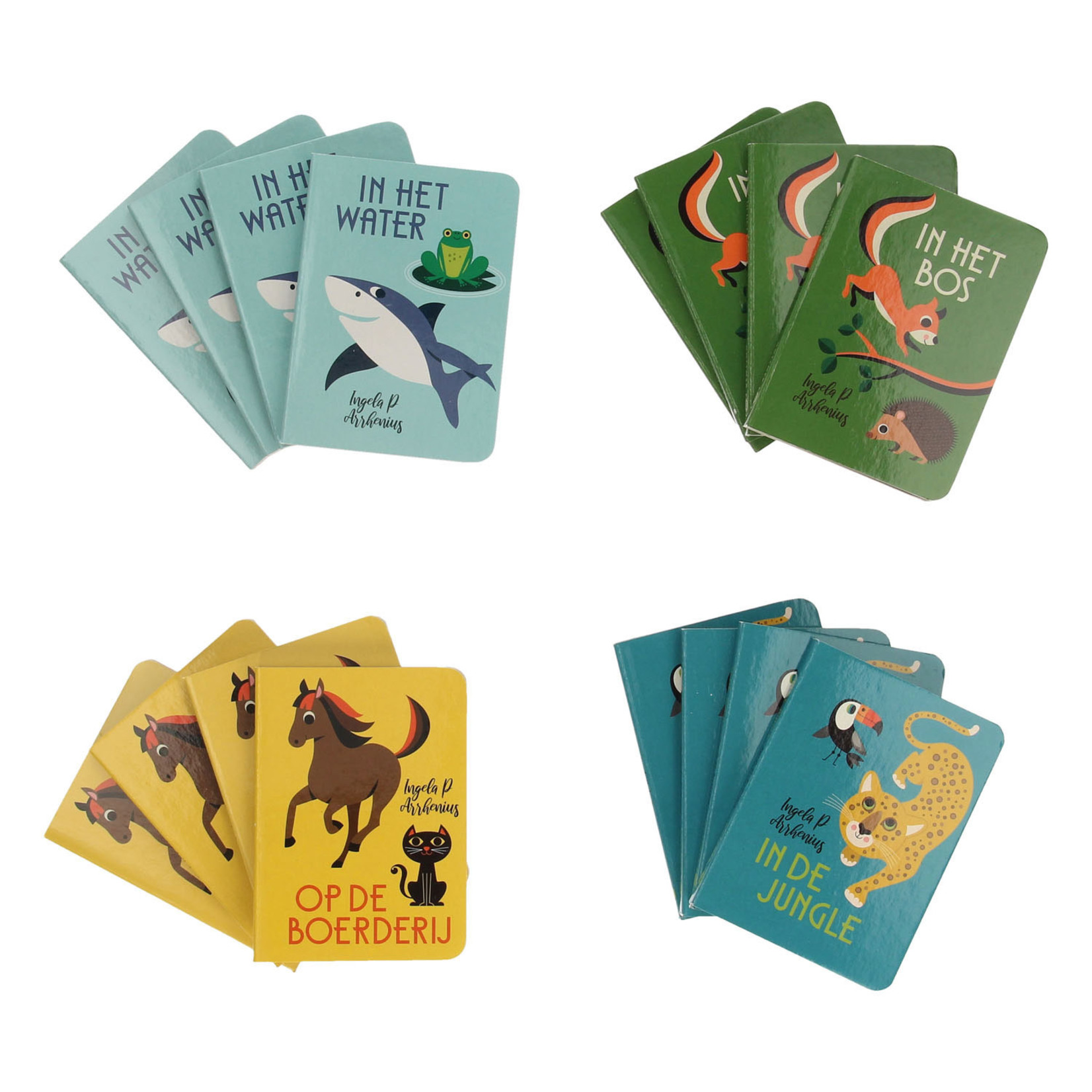 Gottmer Uitdeelboekjes De dieren van Ingela