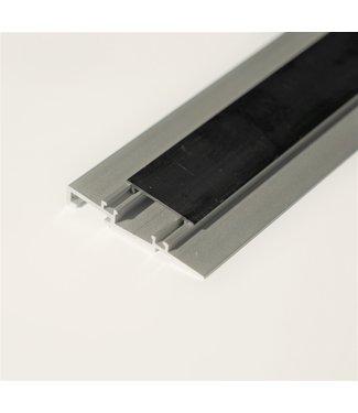 Aluminium onderstrip schuin