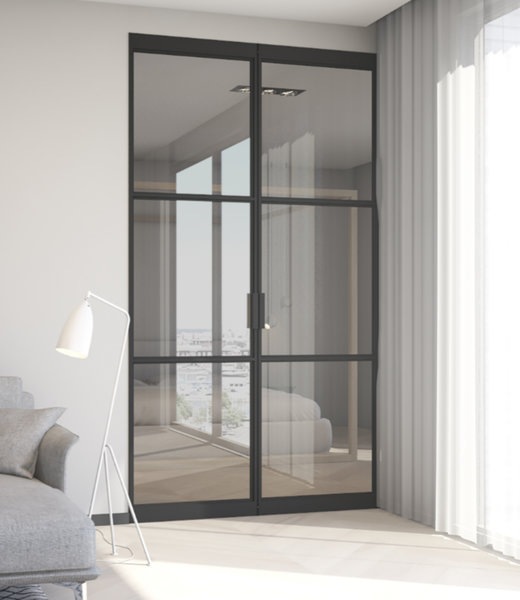 InteriorDoors® Aluminium Dubbele taatsdeur
