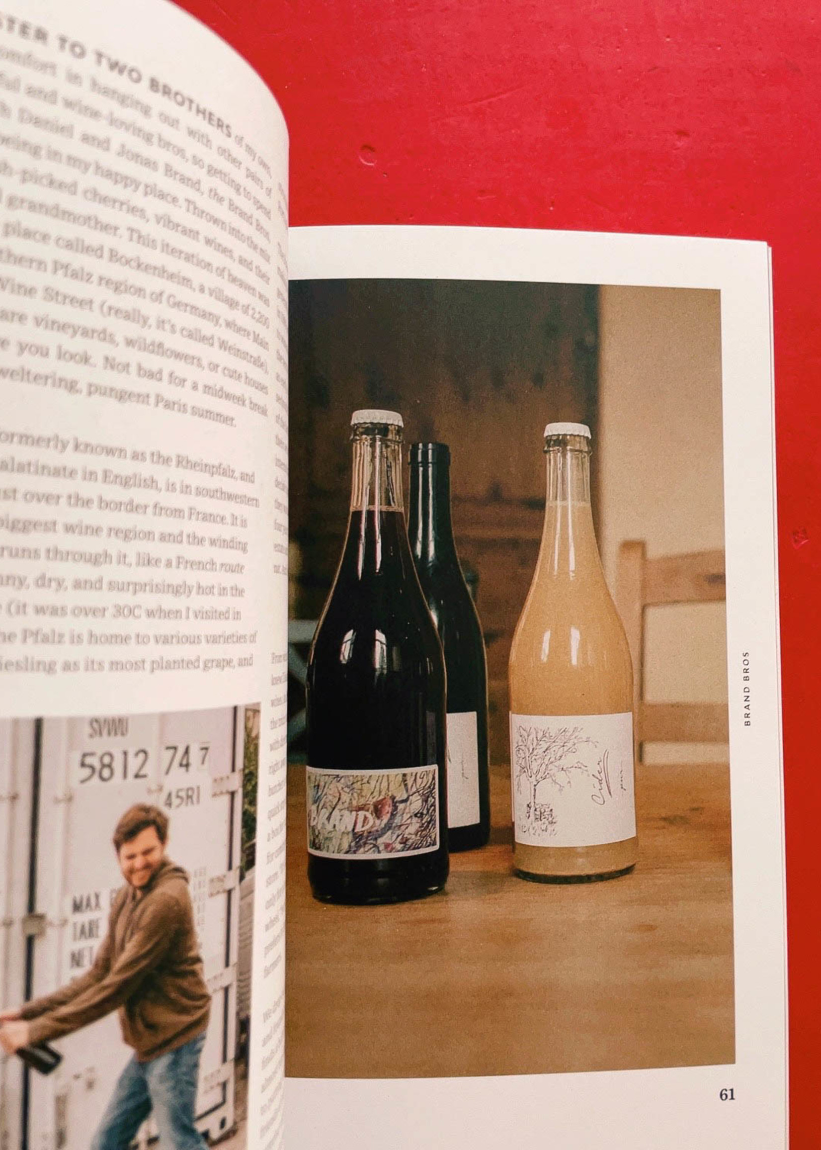 Pipette Magazine Pipette - the indie mag about natural wines - Issue 4