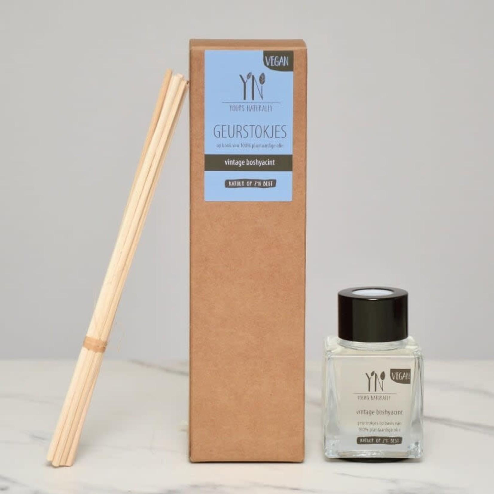 Yours Naturally • geurstokjes vintage boshyacint