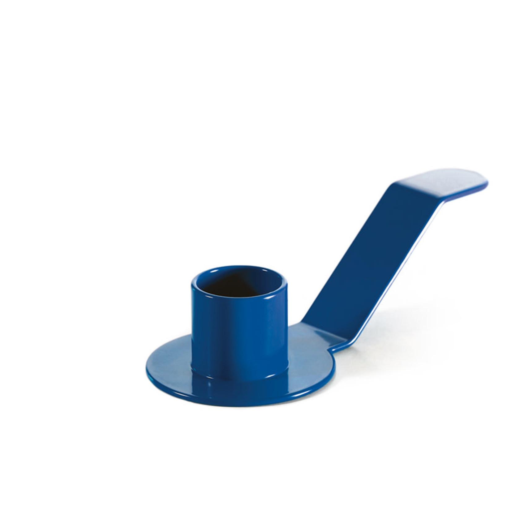 Dekoop • kandelaar voor schoteltjes blauw