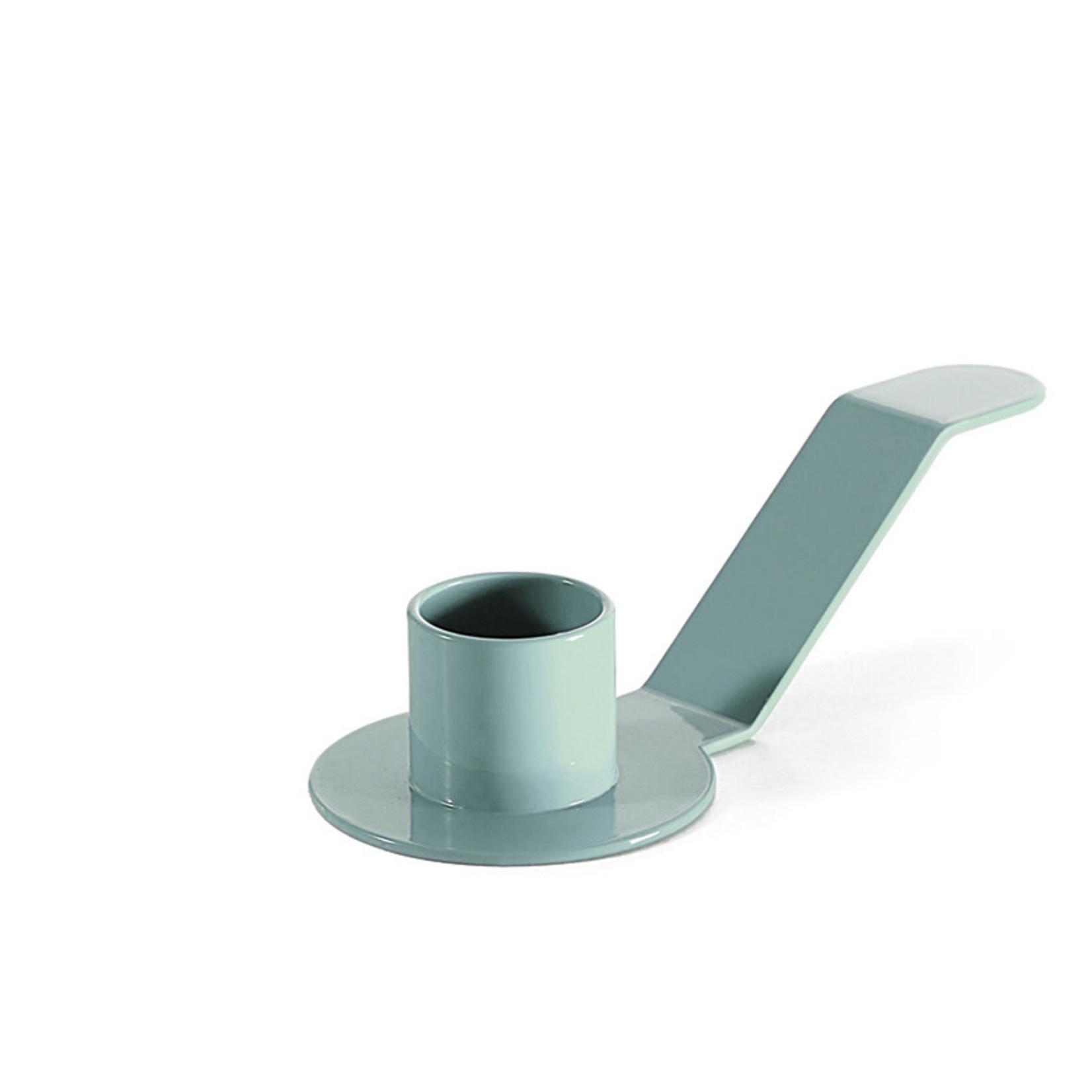 Dekoop • kandelaar voor schoteltjes lichtblauw