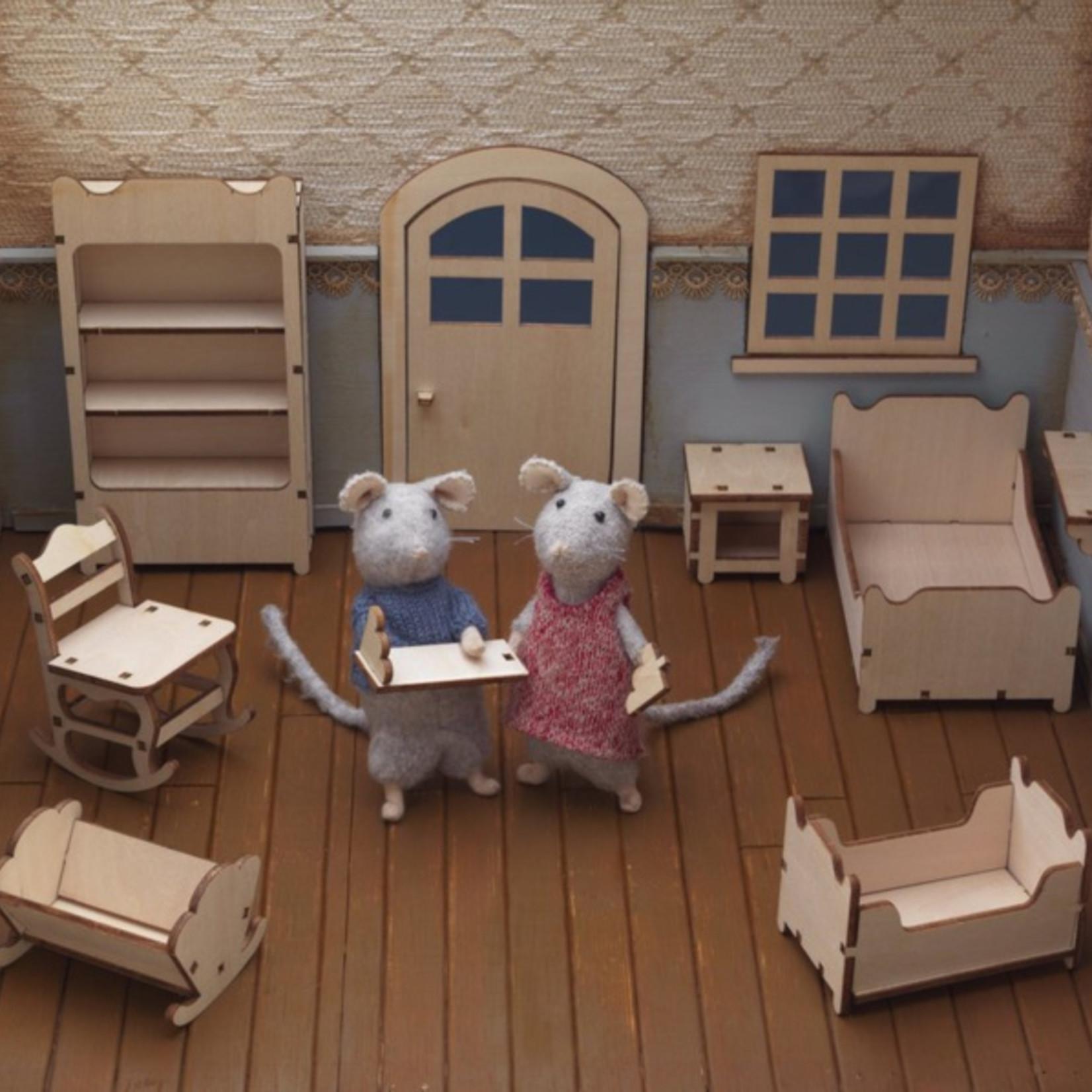 Het Muizenhuis • meubelkit slaapkamer