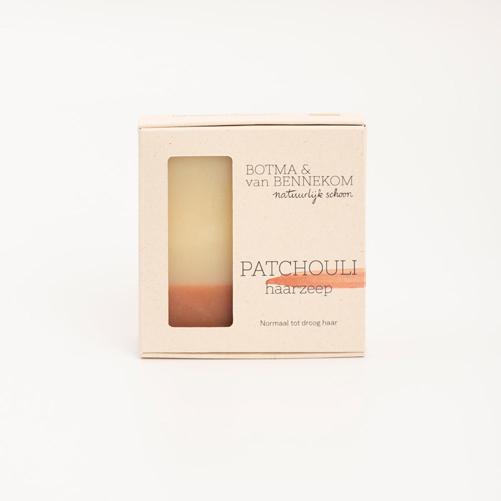 Botma & van Bennekom • patchouli haarzeep 100 g