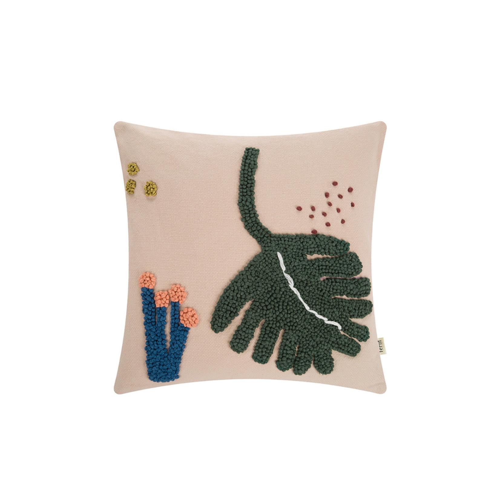 Ferm Living • cushion leaf