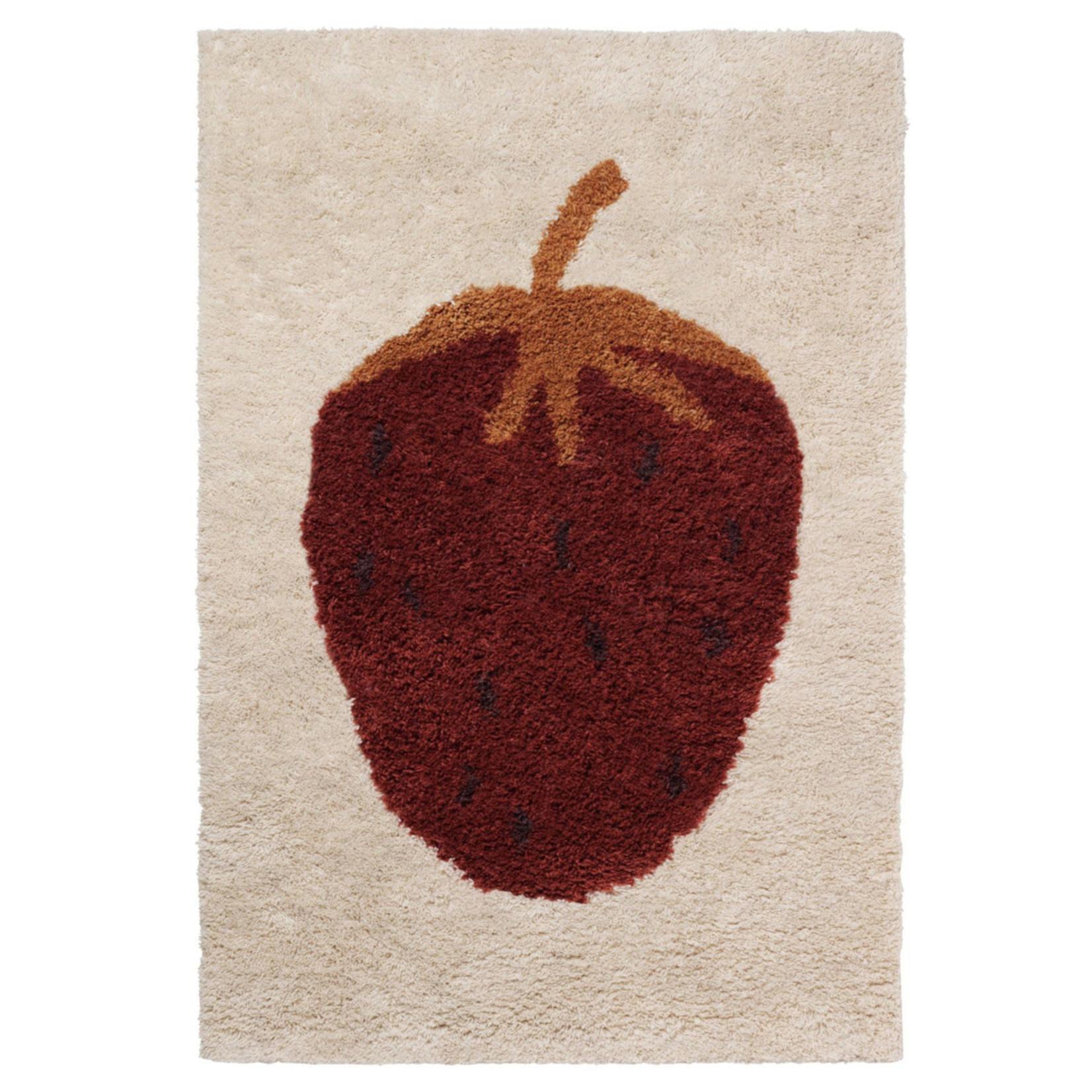 Ferm Living • kleed fruiticana strawberry 120x80