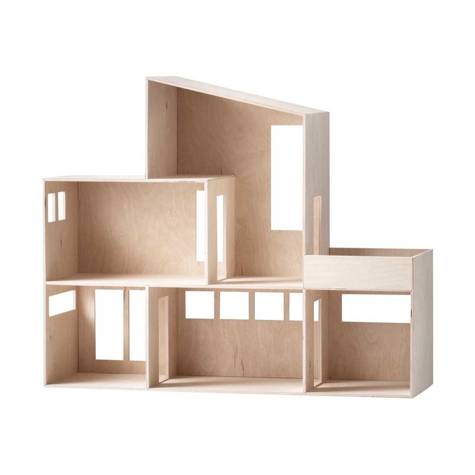 Ferm Living • poppenhuis miniature funkis house