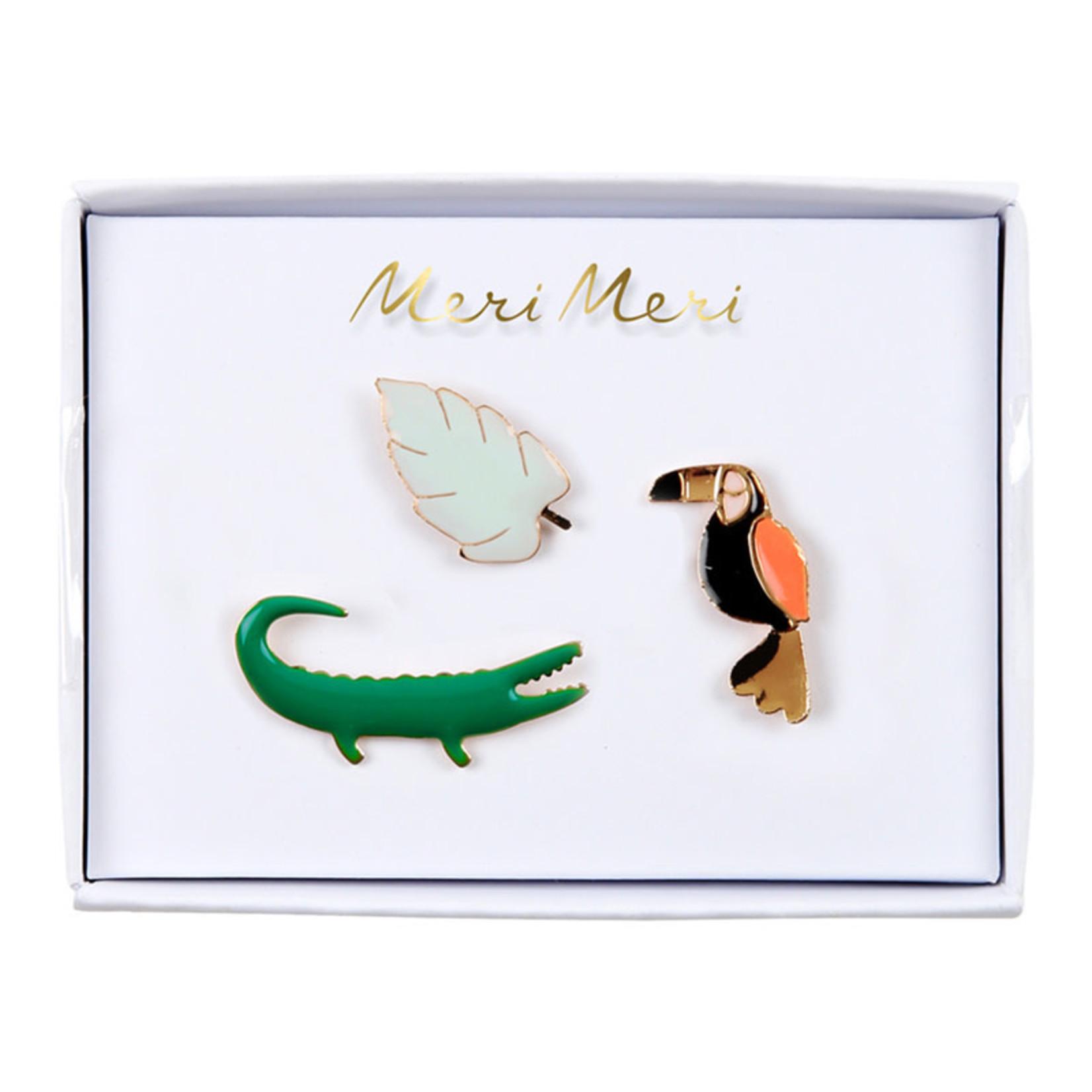 Meri Meri • emaille pins jungle