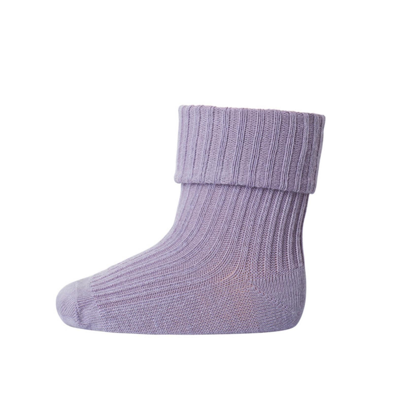 mp Denmark • baby sok cotton | lavender