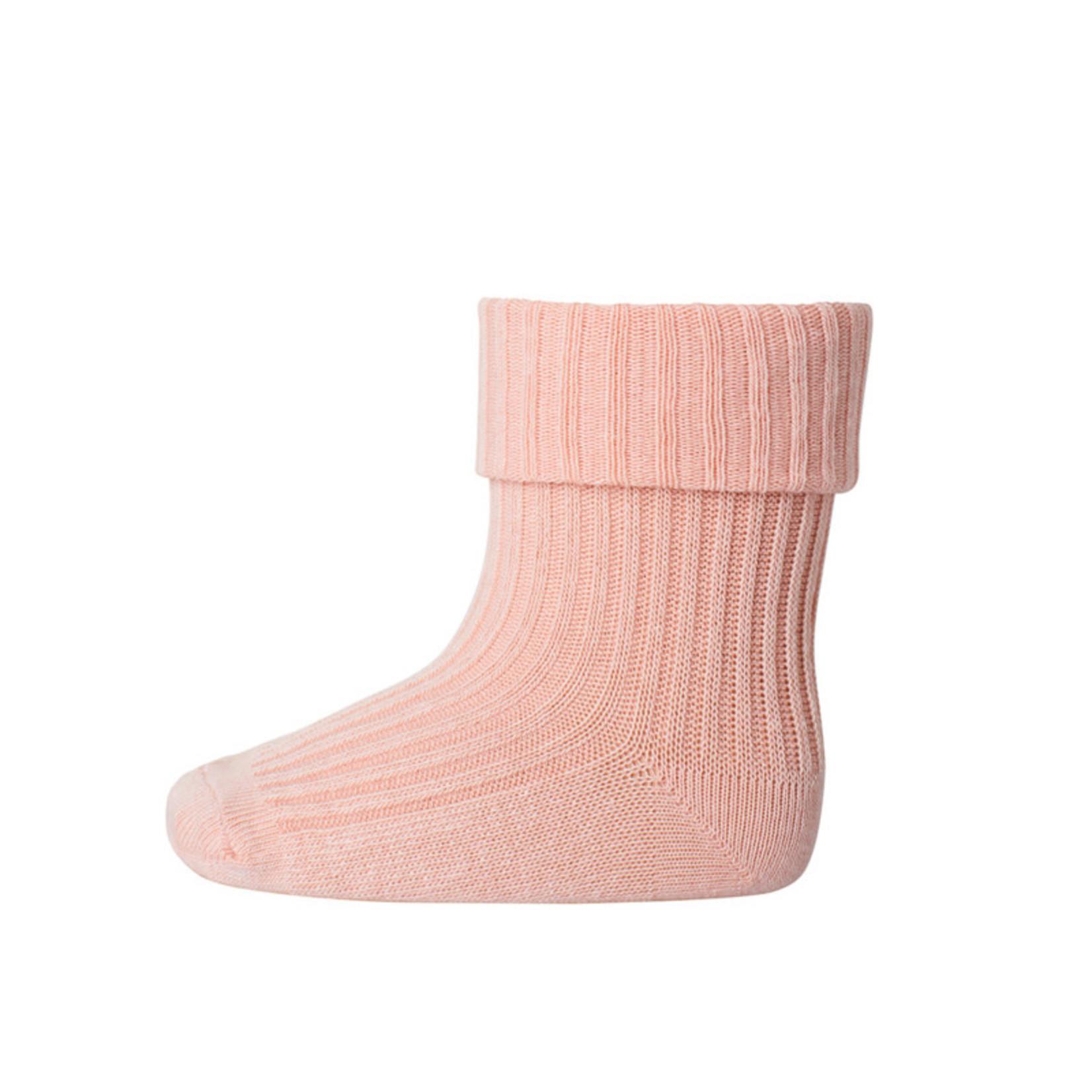 mp Denmark • baby sok cotton | salmon