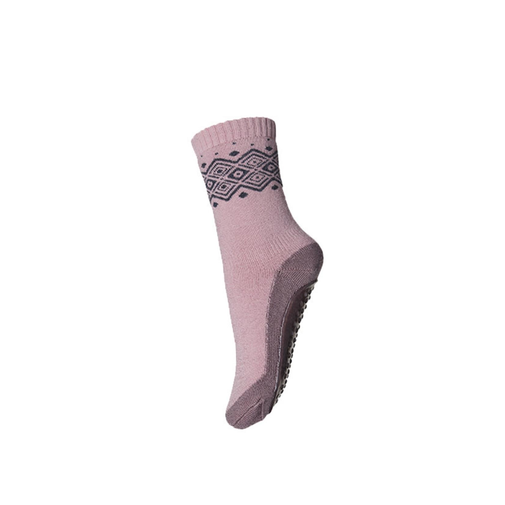 mp Denmark • anti-slip slofjes Bobbie merino | crepe pink
