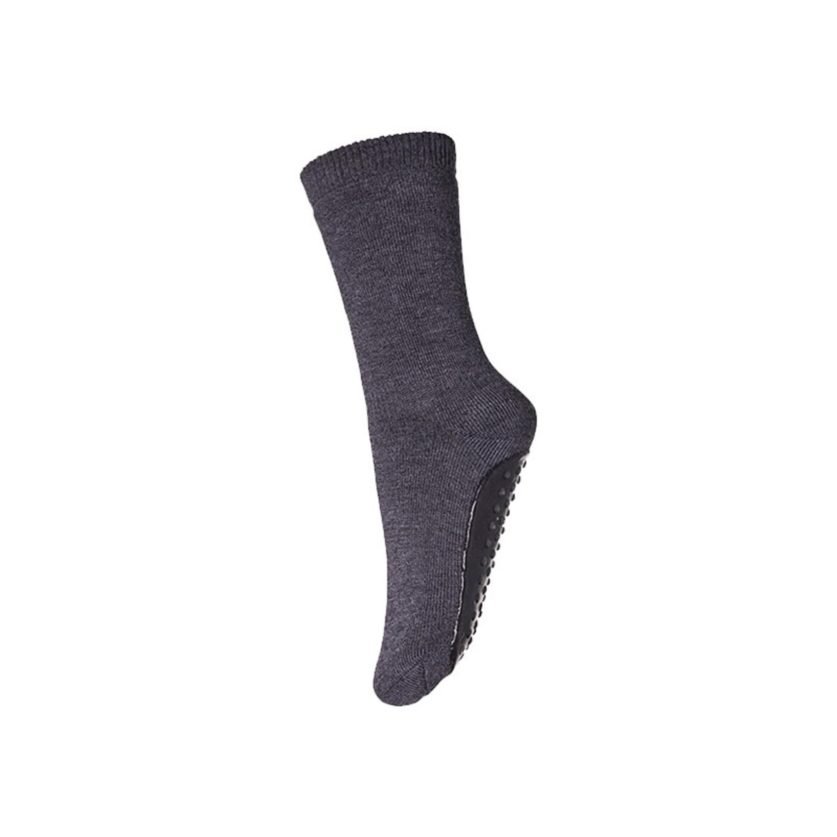 mp Denmark • anti-slip slofjes uni merino | spruce grey