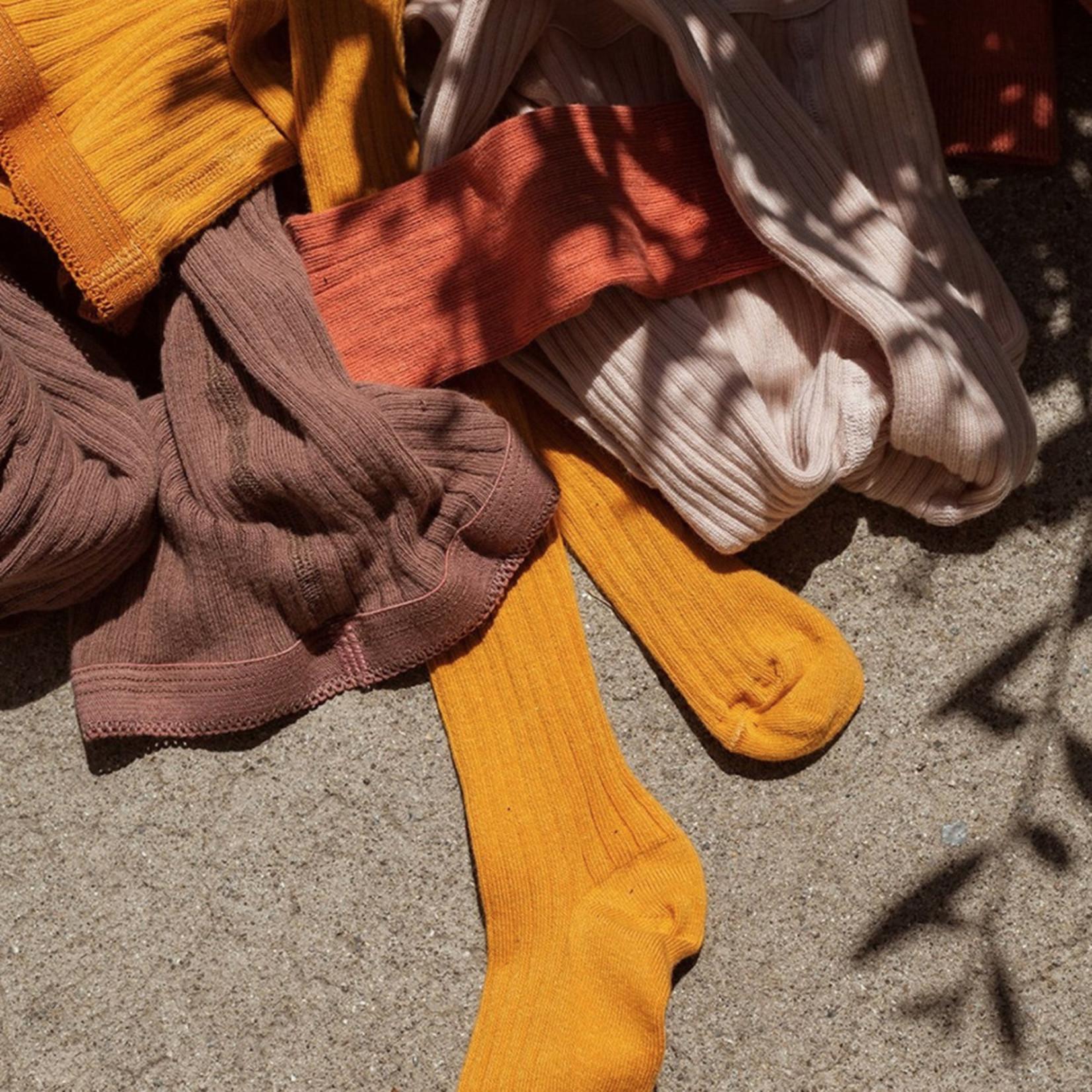 mp Denmark • maillot cotton rib | ochre