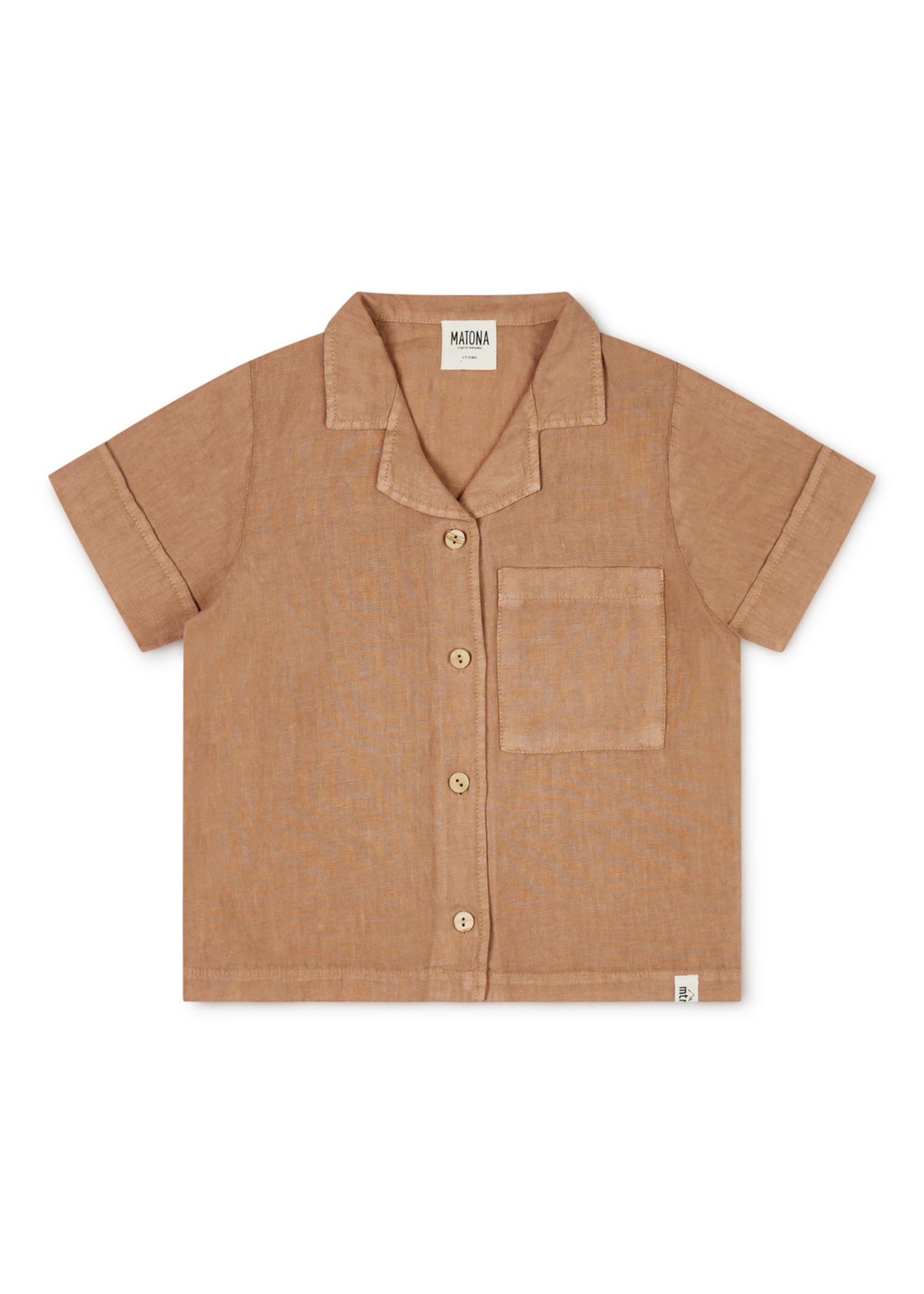 Matona Ari shirt tan