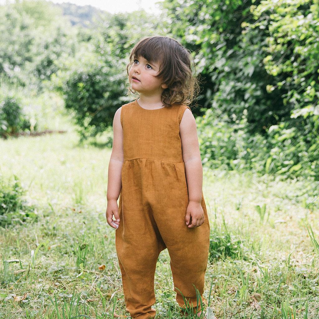 Matona Biologische linnen jumpsuit Rye