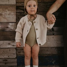 The Simple Folk The Chunky Cardigan, gebreid vest