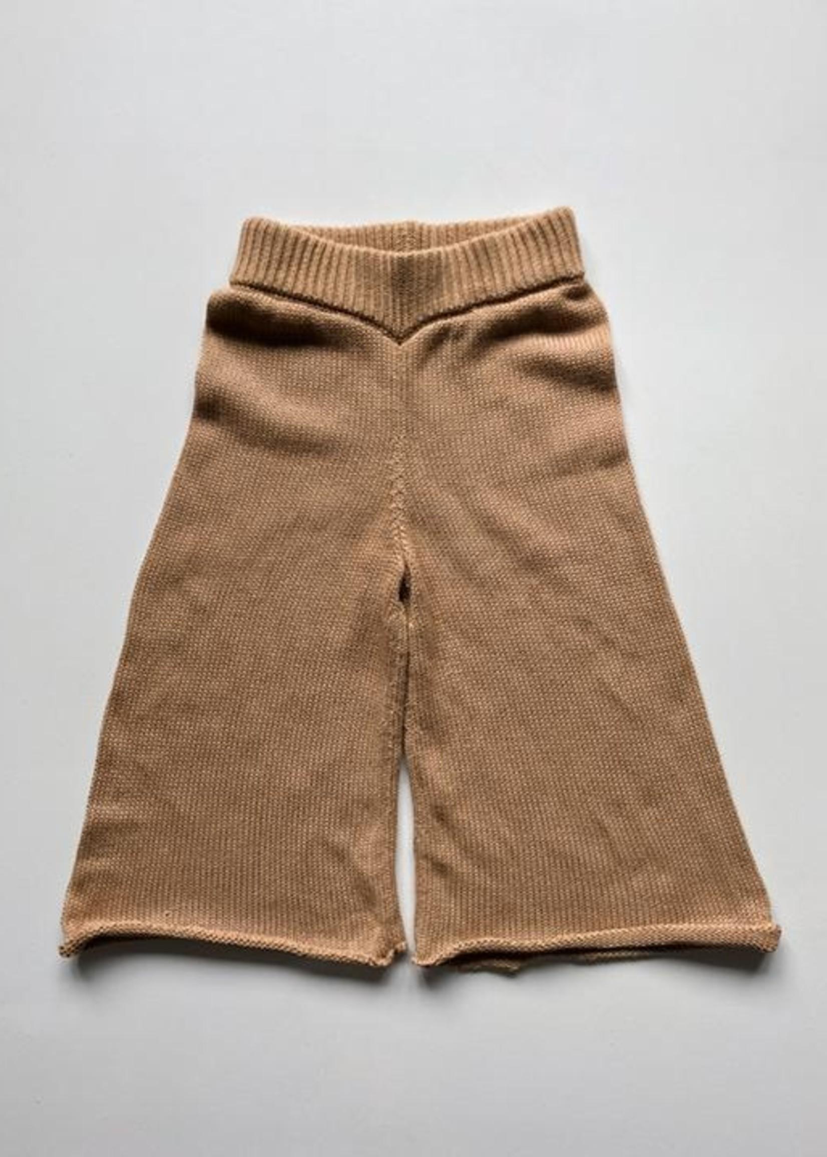 The Simple Folk Laatste Wide Leg Knit Trouser, maat 5-6 jaar