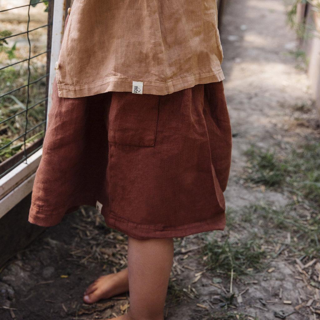 Matona Biologisch linnen jurkje Eden
