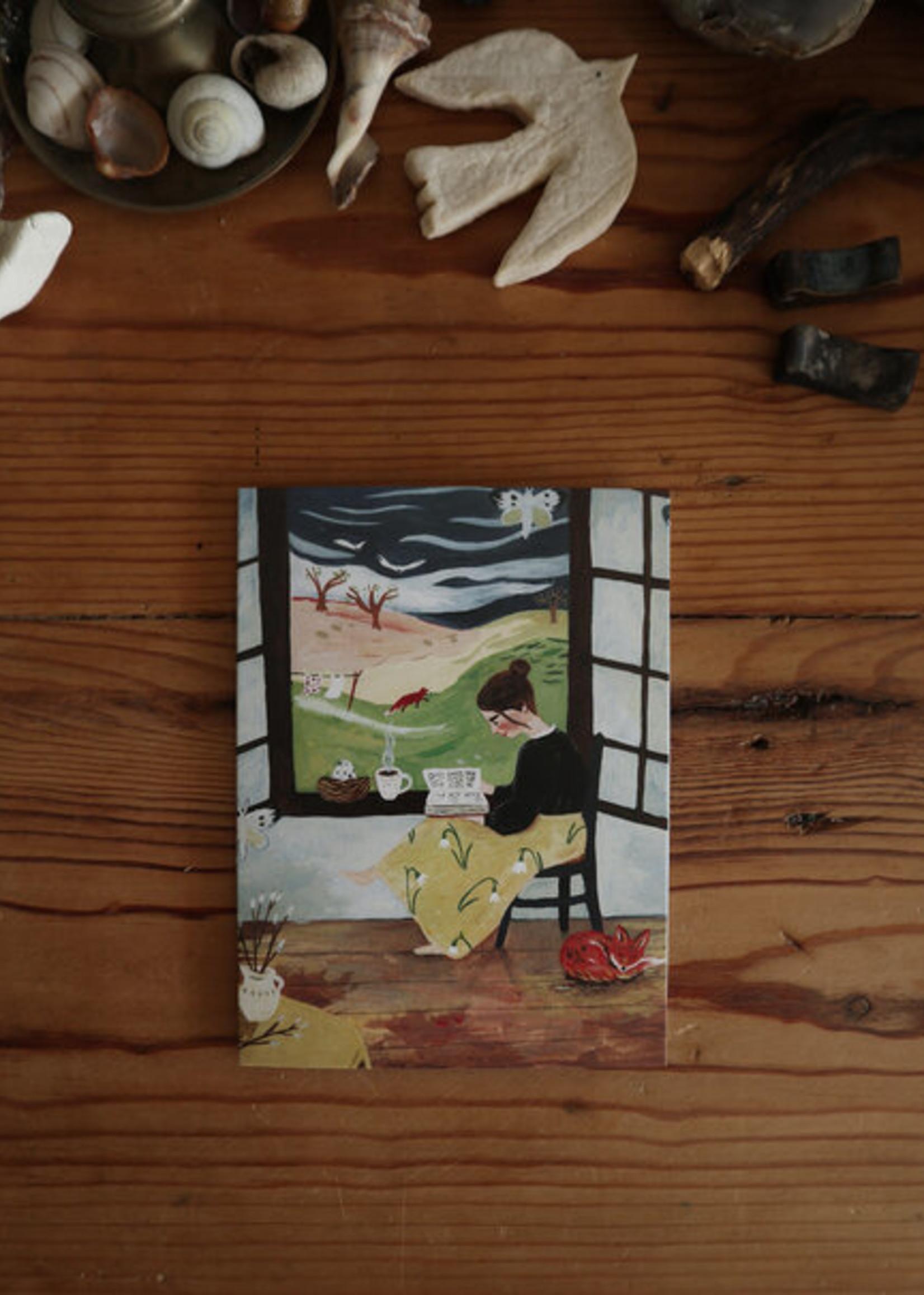 Kaart Beginning of Spring, Tijana Draws - Copy