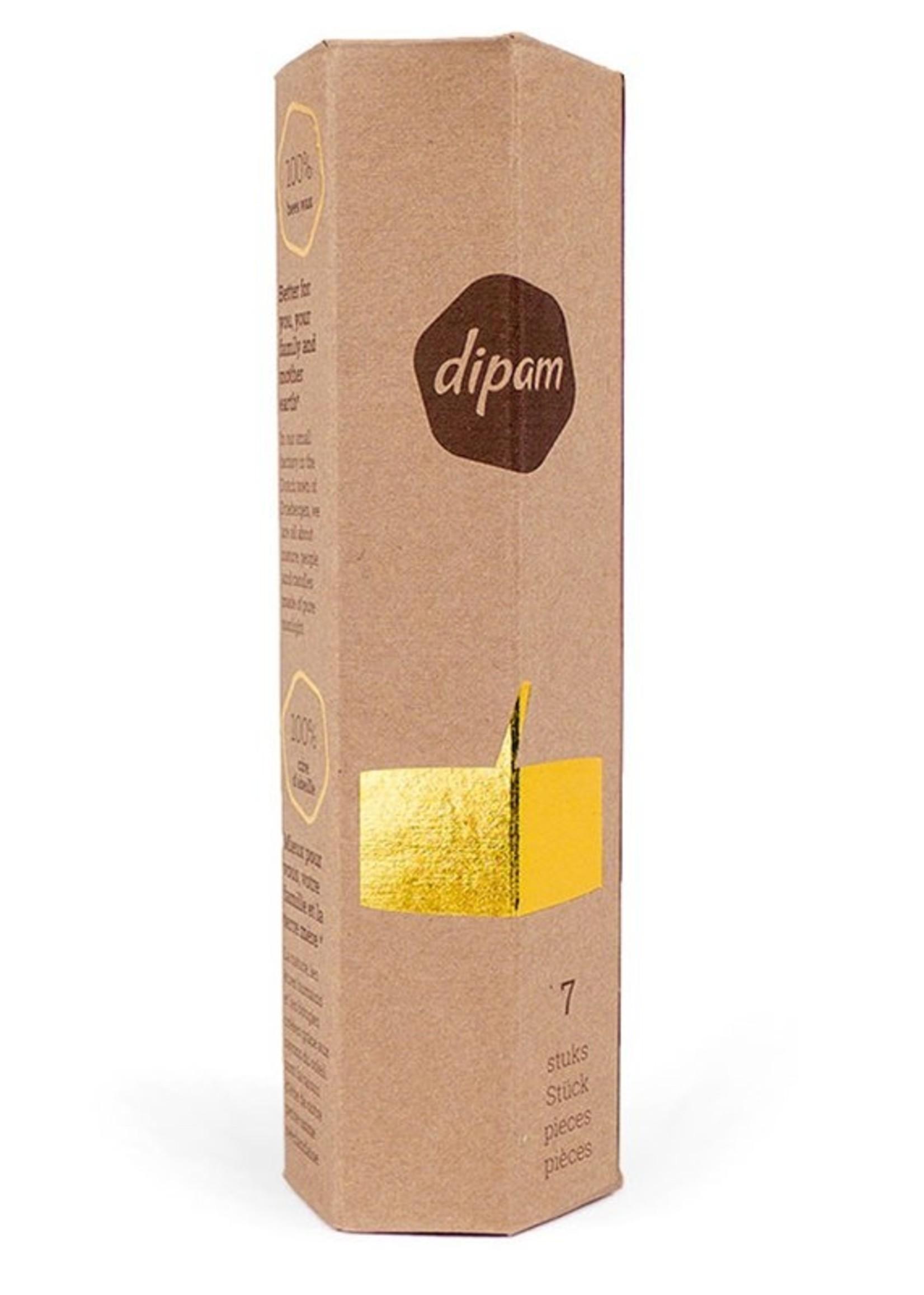 Dipam Dipam bijenwastheelichtjes in cadeauverpakking