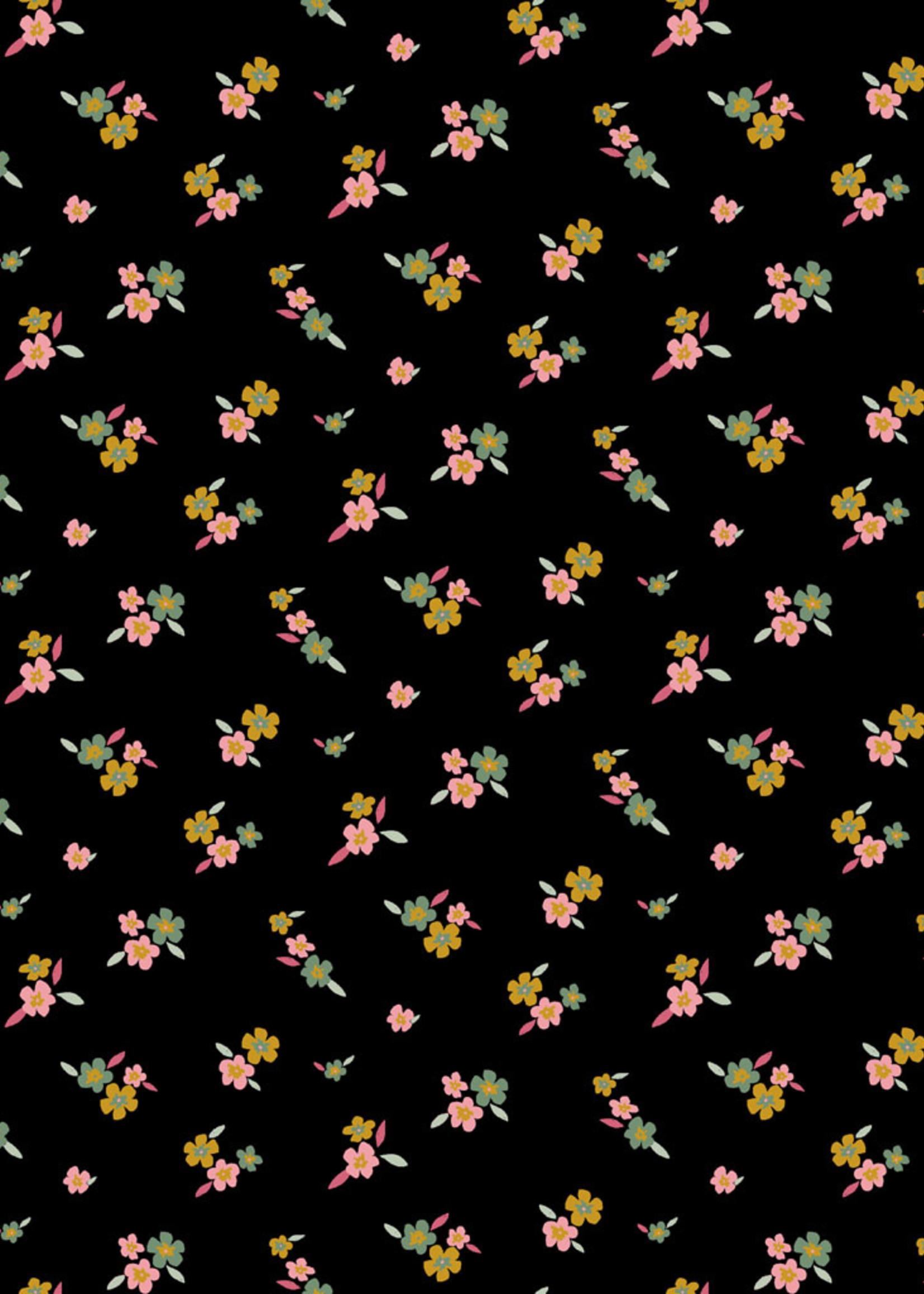 Poppy JERSEY GOTS LOVELY FLOWERS