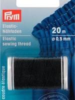 Prym ELASTISCH NAAIGAREN 0,5mm ZWART