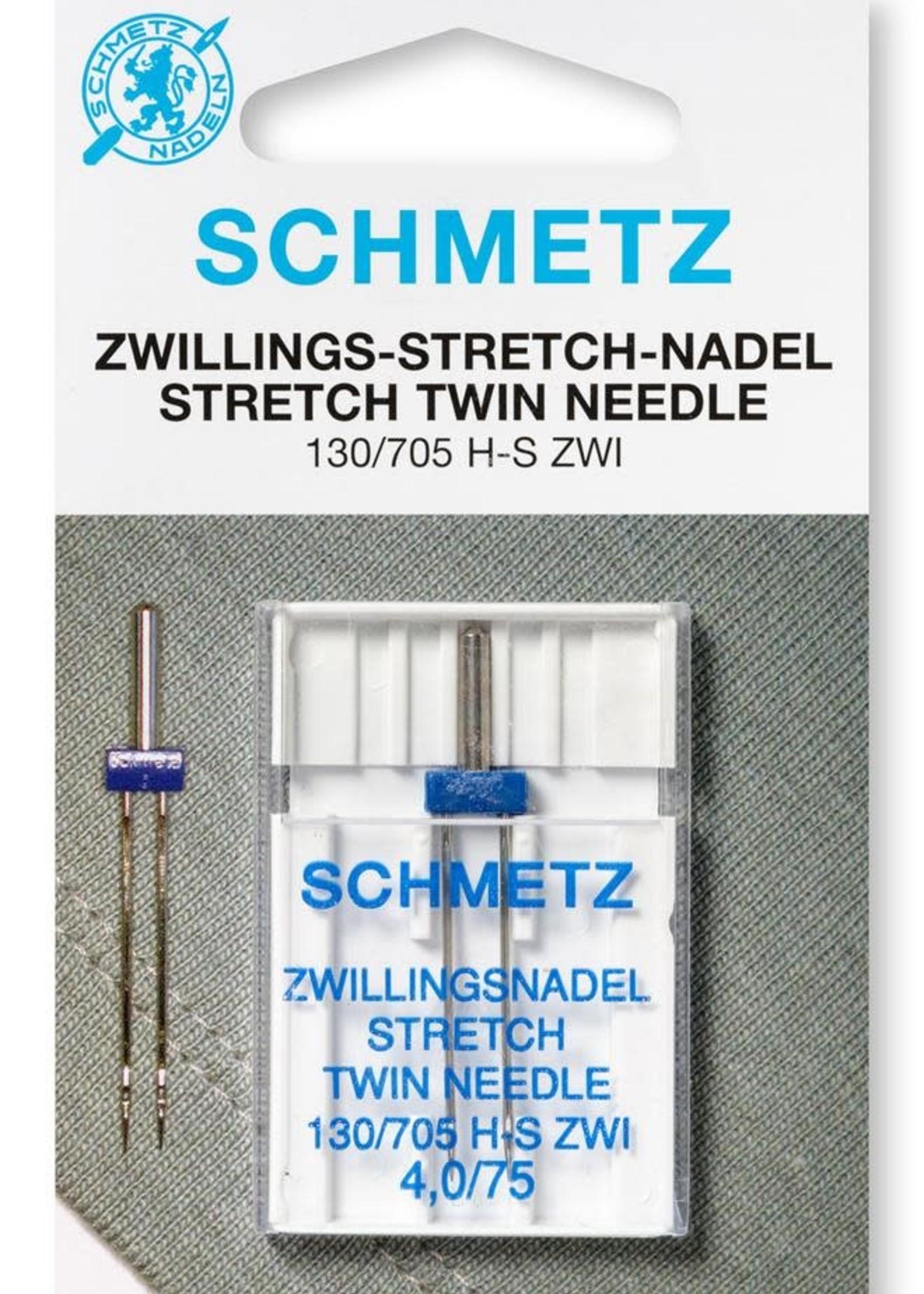 Schmetz Machinenaald Tweeling Stretch 130/705 n75-4,0