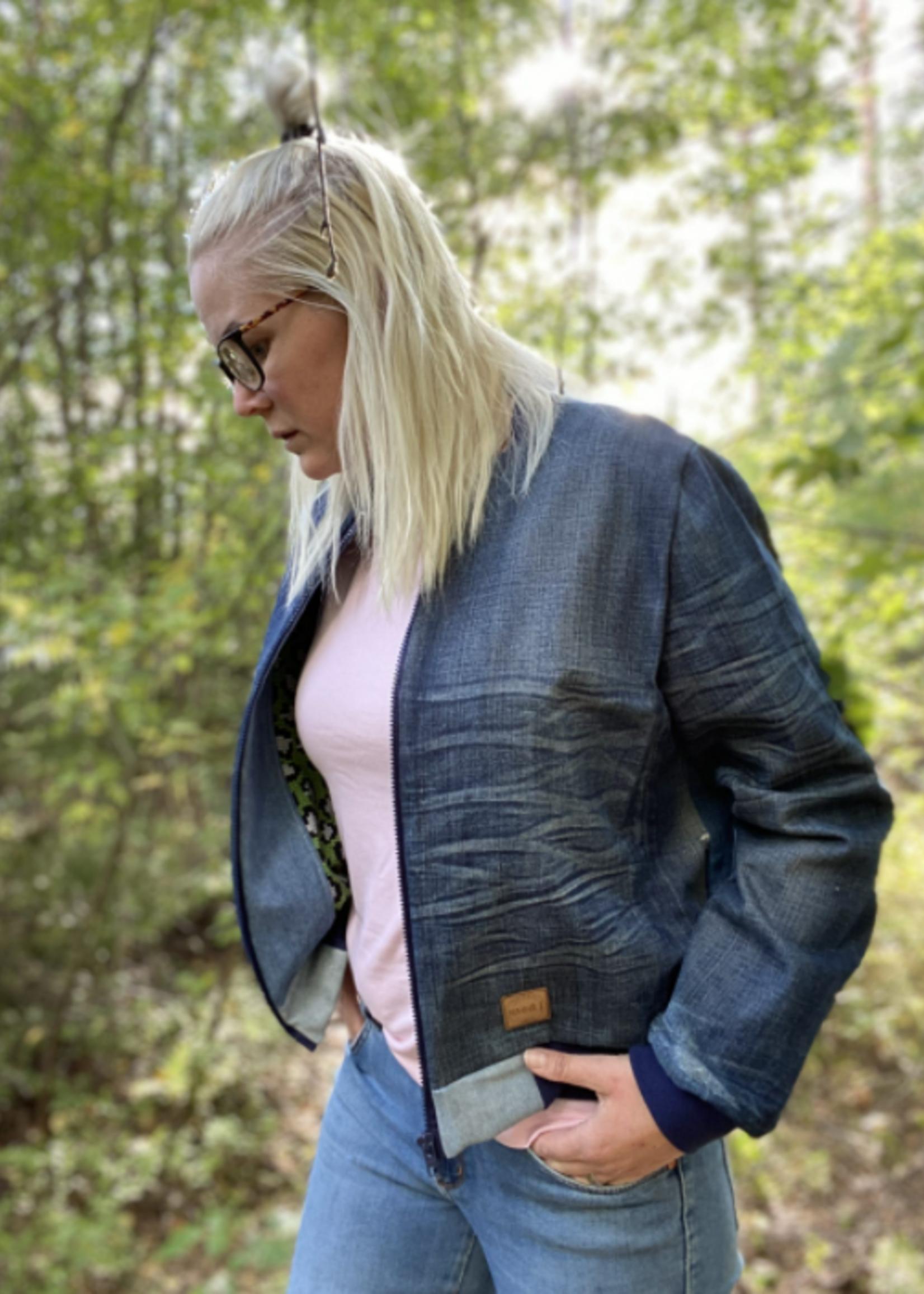 Bel'Etoile Clea bomberjas voor dames & tieners – naaipatroon