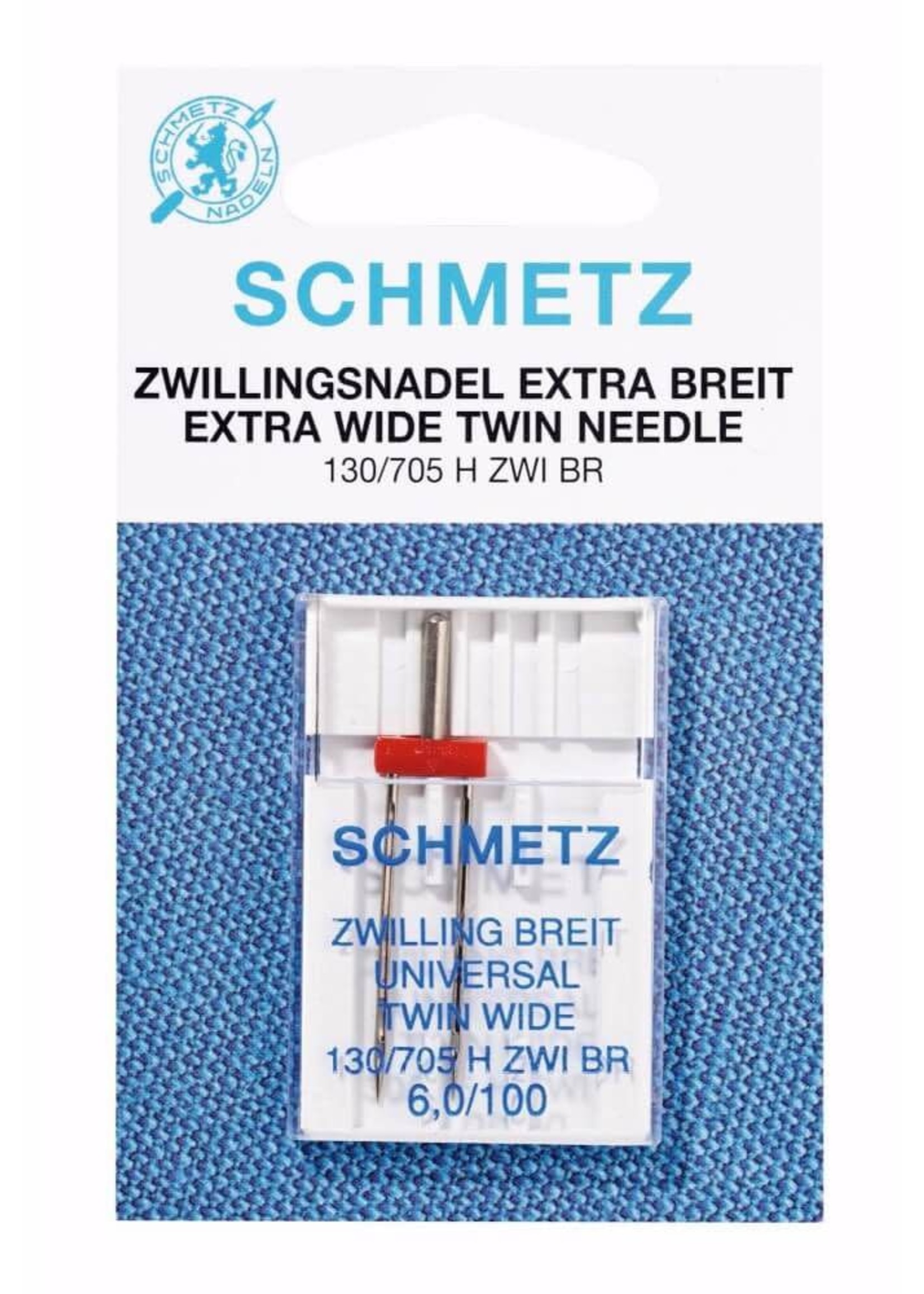 Schmetz Machinenaald Tweeling breed 130/705 H ZWI BR 6,0/100