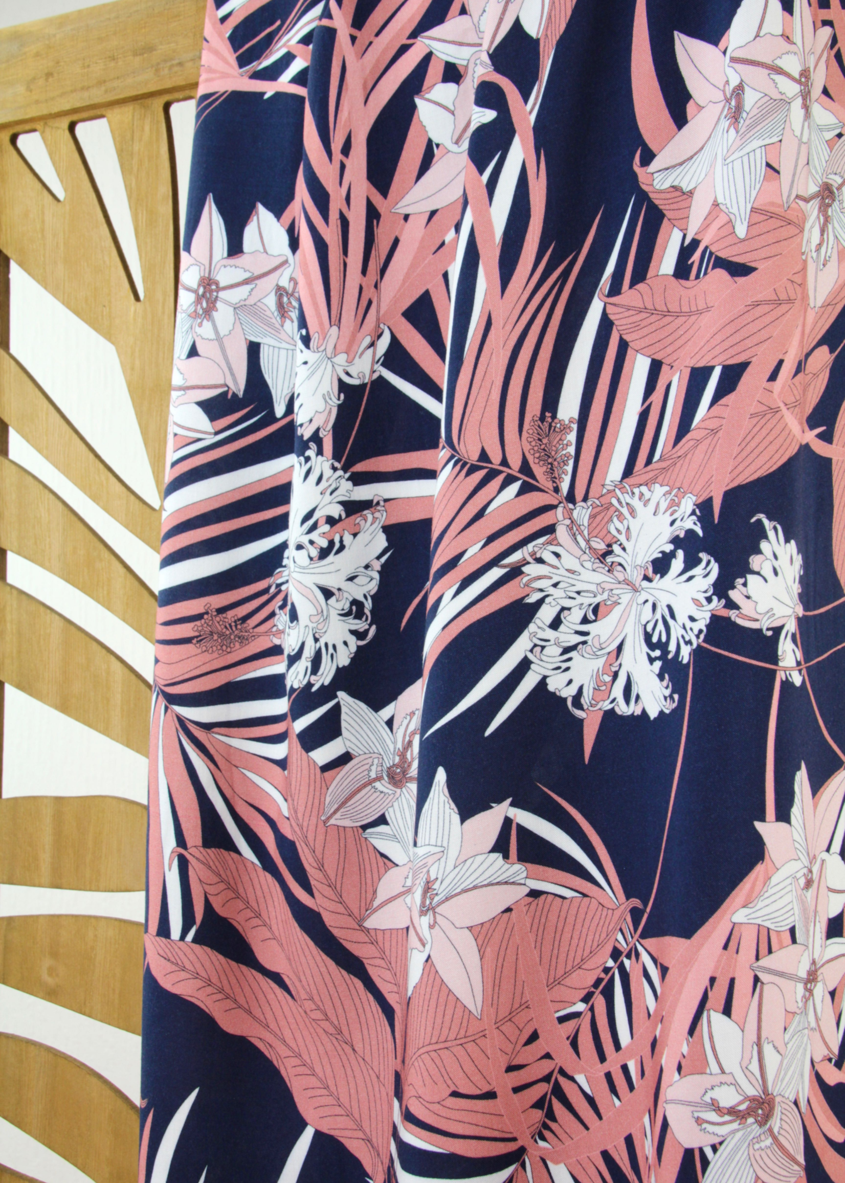 Atelier Jupe BLUE PINK TROPICAL