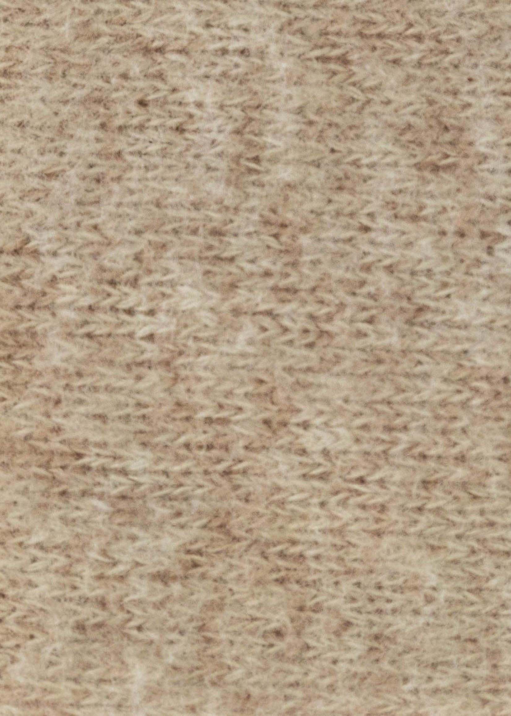 Katia Fabrics RECYCLED BRUSHED JERSEY ALMOND