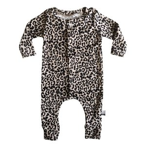 4 baby en kids Boxpakje velours leopard
